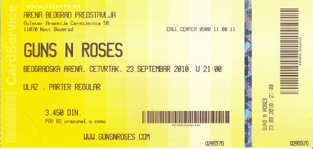 lažni Guns 'n' Roses