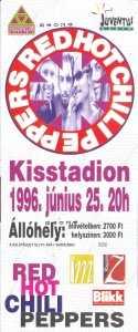 RHCP 1996.
