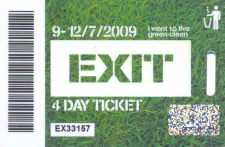 Exit 2009.